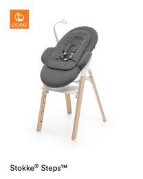 Stokke Steps barošanas krēsliņš + bērnu sēdeklītis